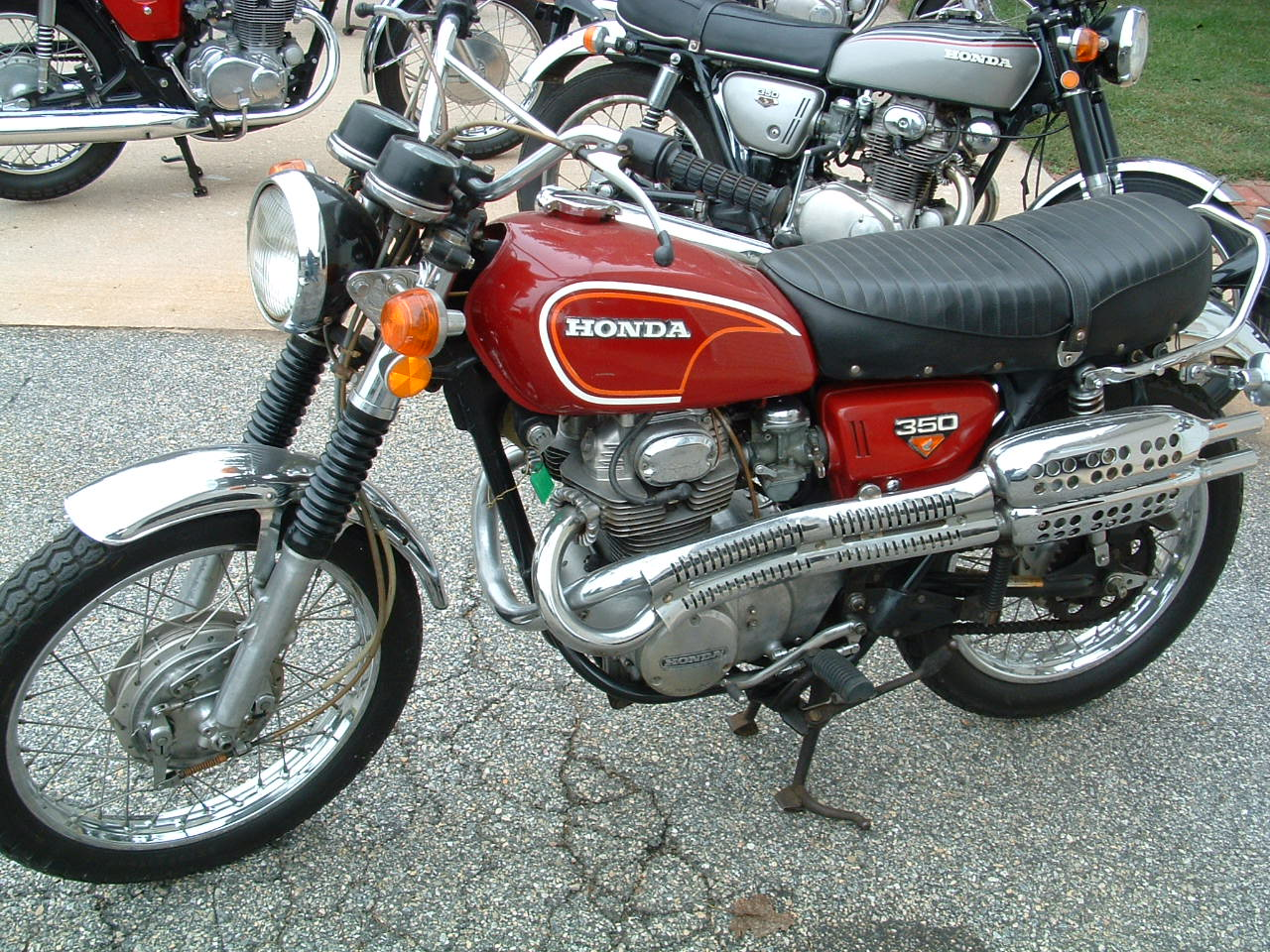 Honda Of Greeley >> First Bike Questions - How do I find a VIN search for a 1973 CL350?