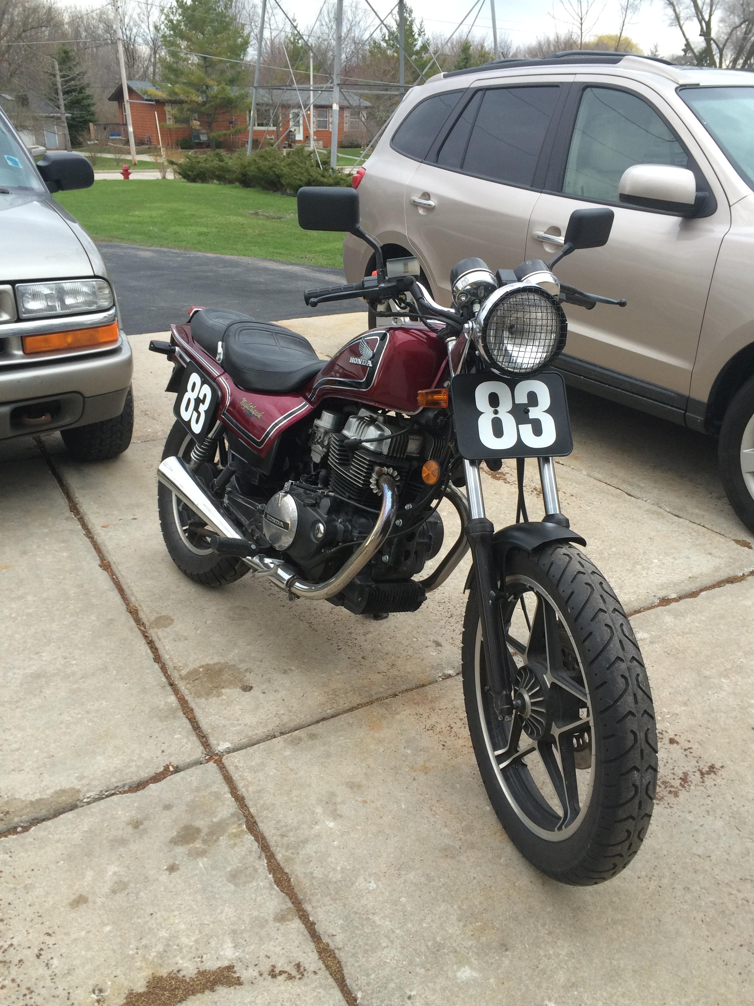 1983 cb450sc