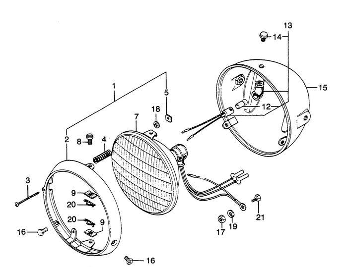 Replacement Headlamp