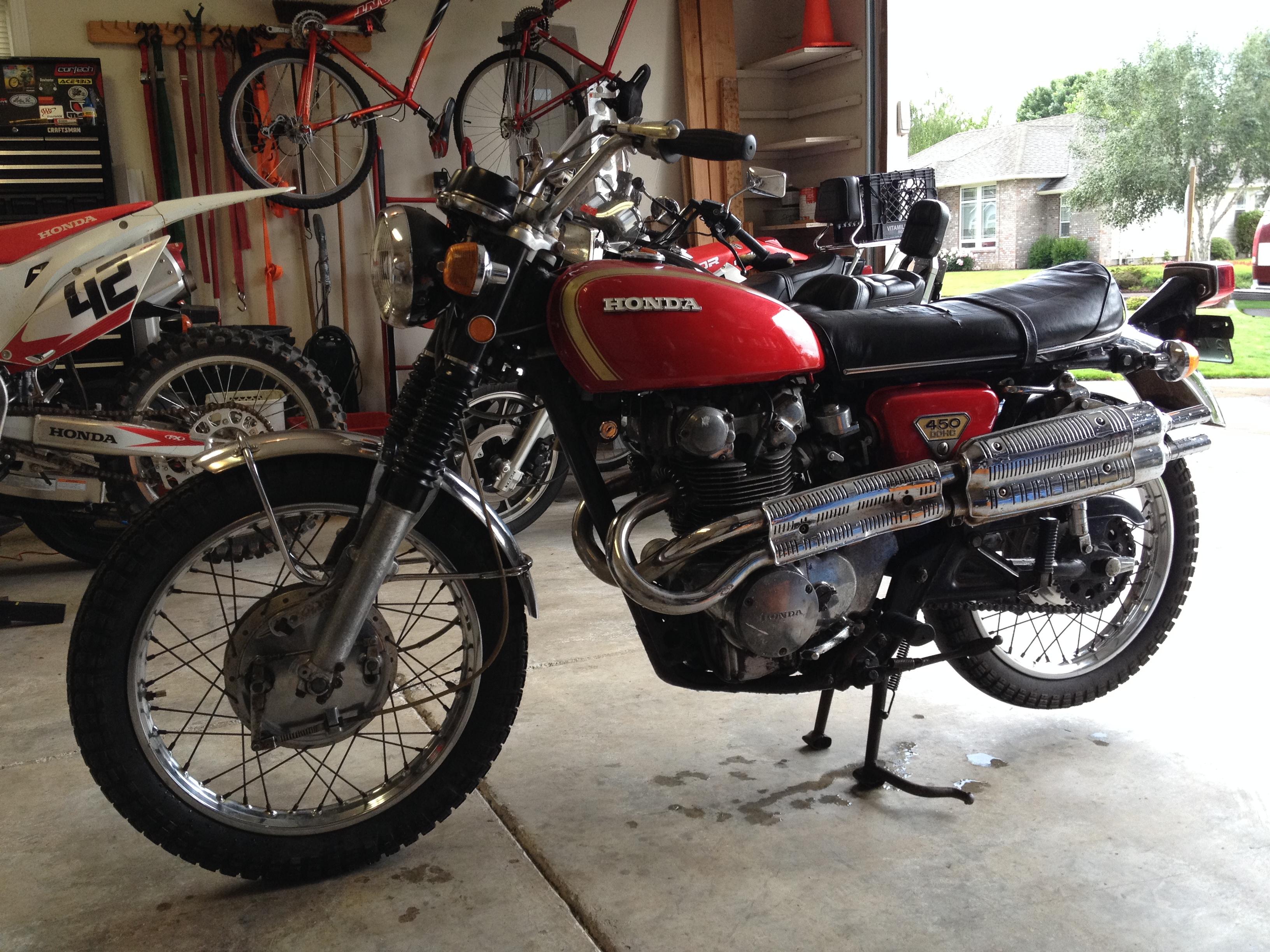 1970 Honda CL450 Cl450 049