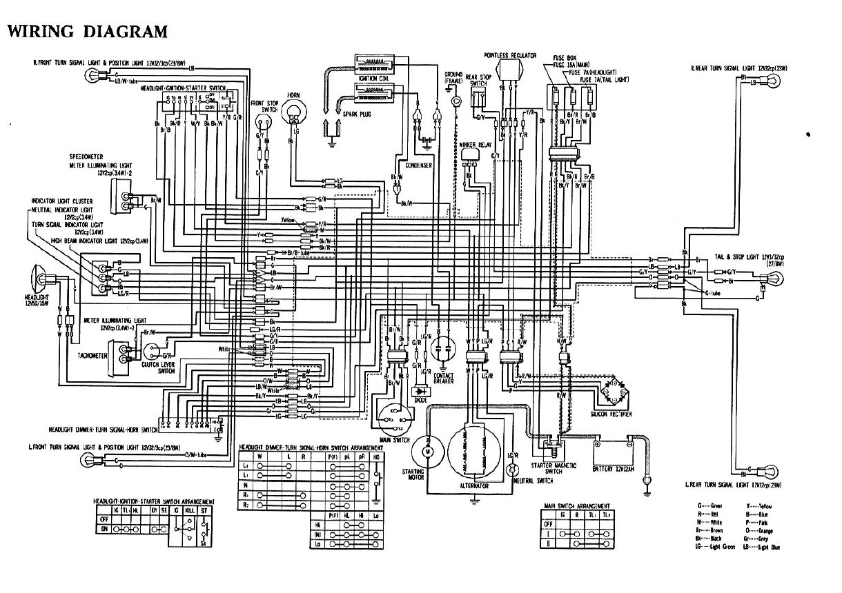 75565d1460402137 75 cb360t electrical help 1975 cb360t usa wiring diagram supplement 75 cb360t electrical help!! page 2 1975 honda cb360 wiring diagram at couponss.co