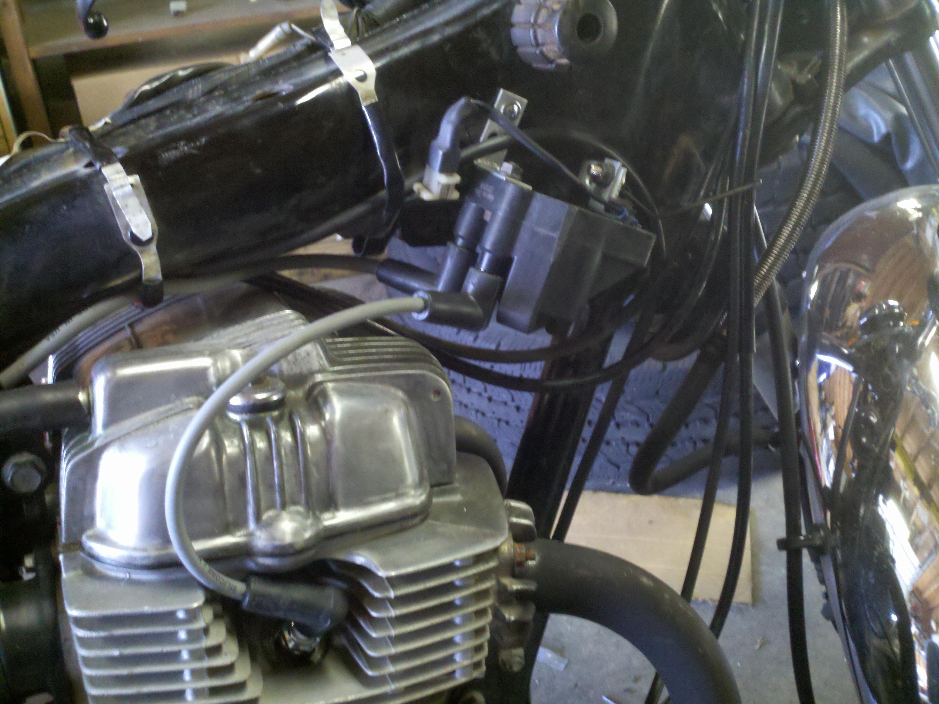 1988 Honda Cb450 Wiring Diagram further Honda Cb550f Wiring Diagram as well Yamaha Xv535 also 1995 Softail Tail Lite Wiring Harness additionally Cb175 Gallery. on wiring diagram honda cb360
