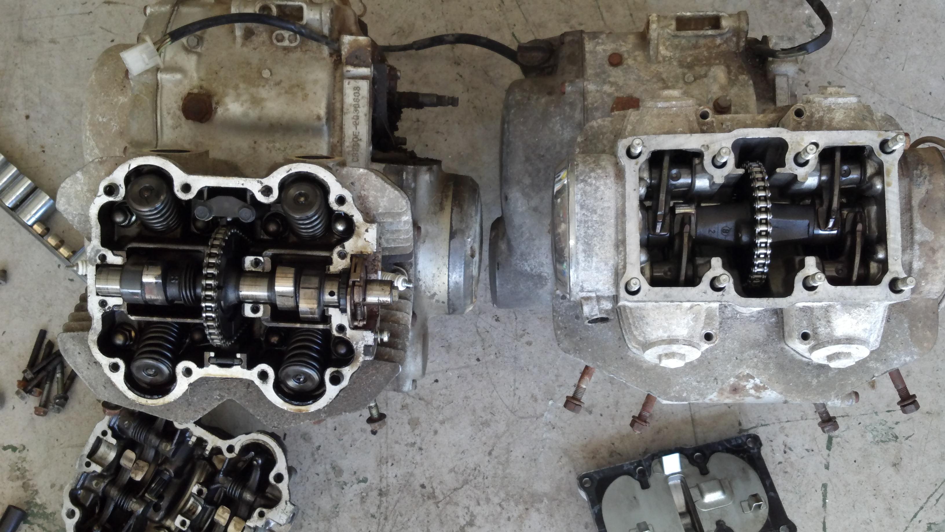 Honda 350 Vs 360 Engine Comparison Diagram Piston 2011 10 12 31