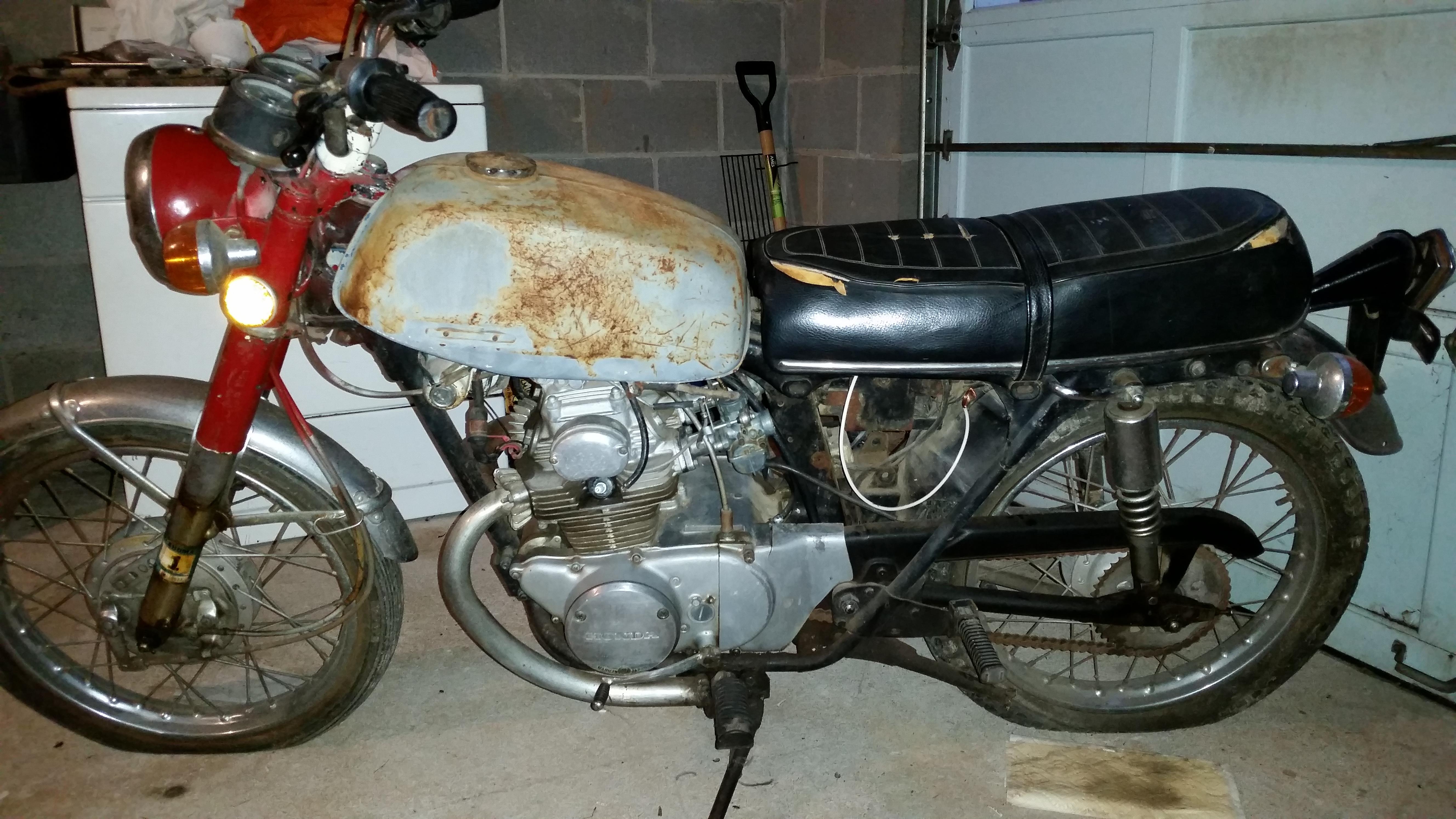 1971 Honda Cb175 For Sale