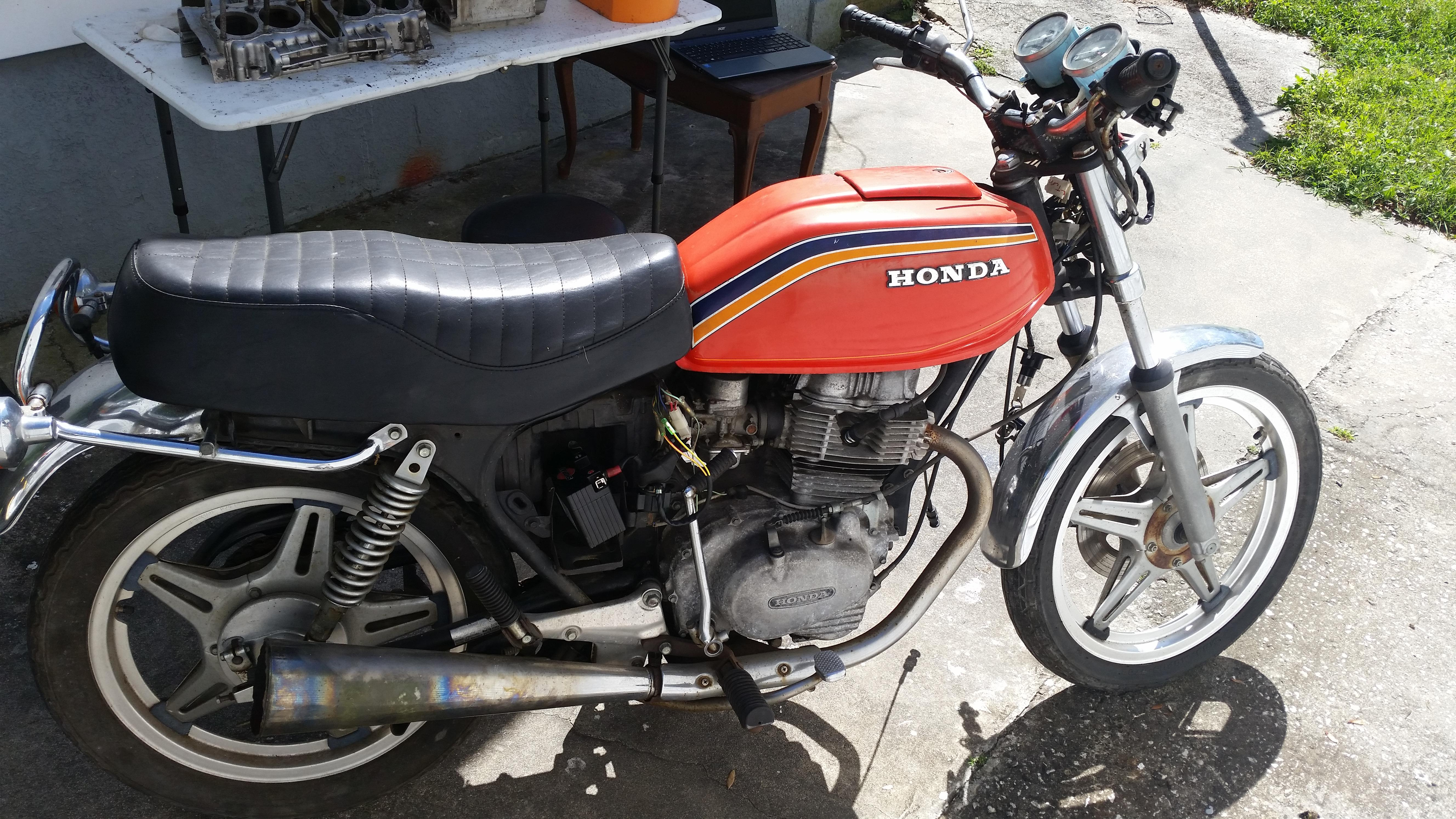 1978 Honda Cb400t Electrical Problems