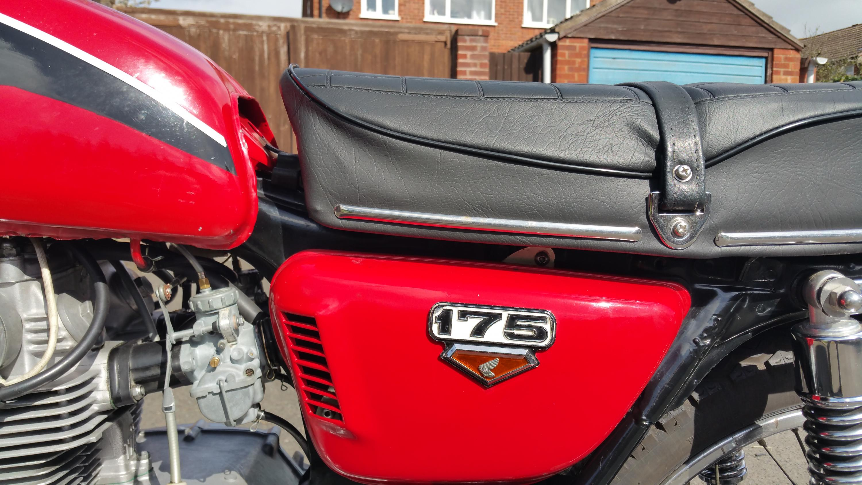 Any difference in a 1970 CB175 gas tank and the CL175?-20160503_102049.jpg