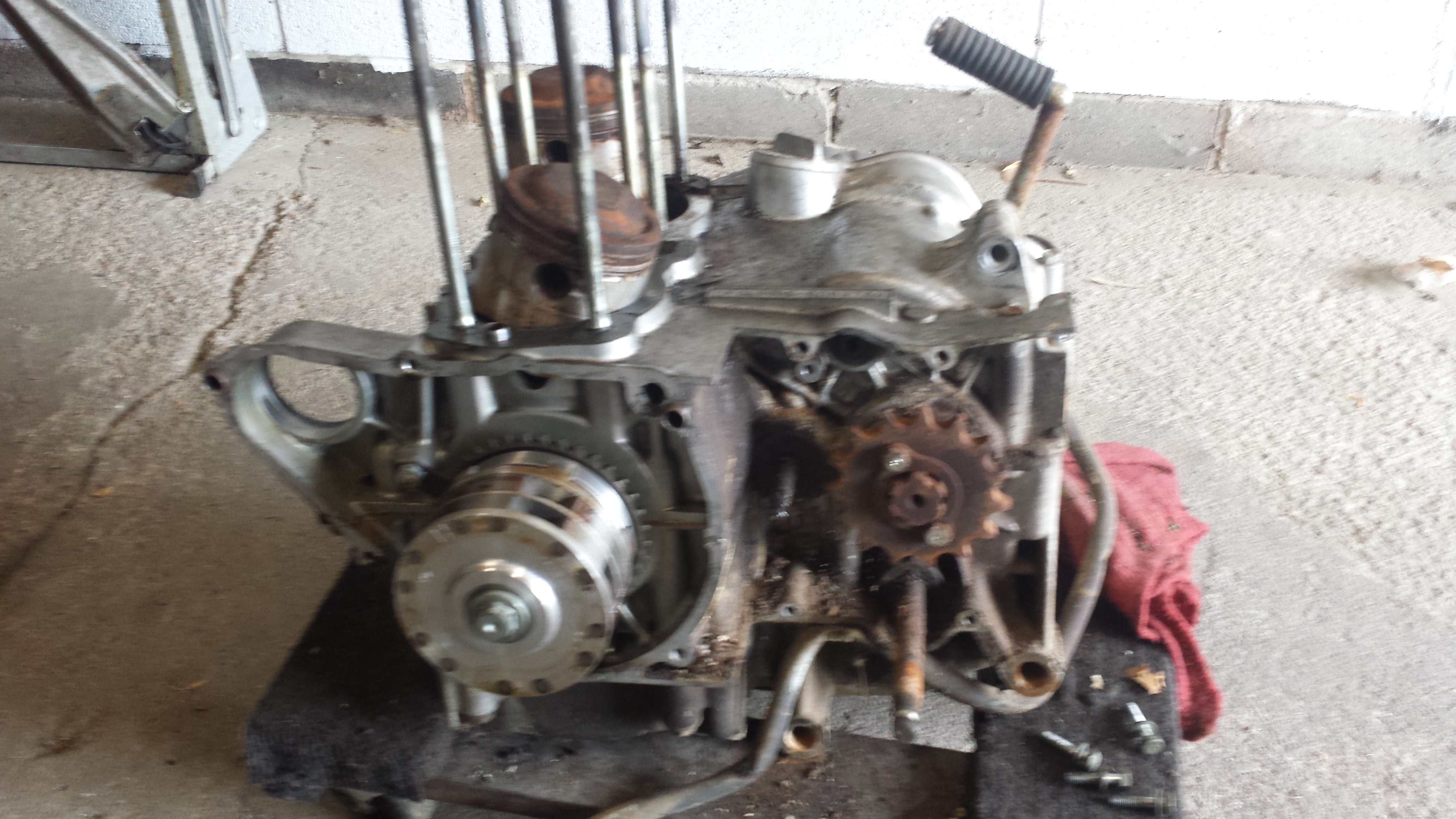 73 CL450 for parts-20161002_135622.jpg