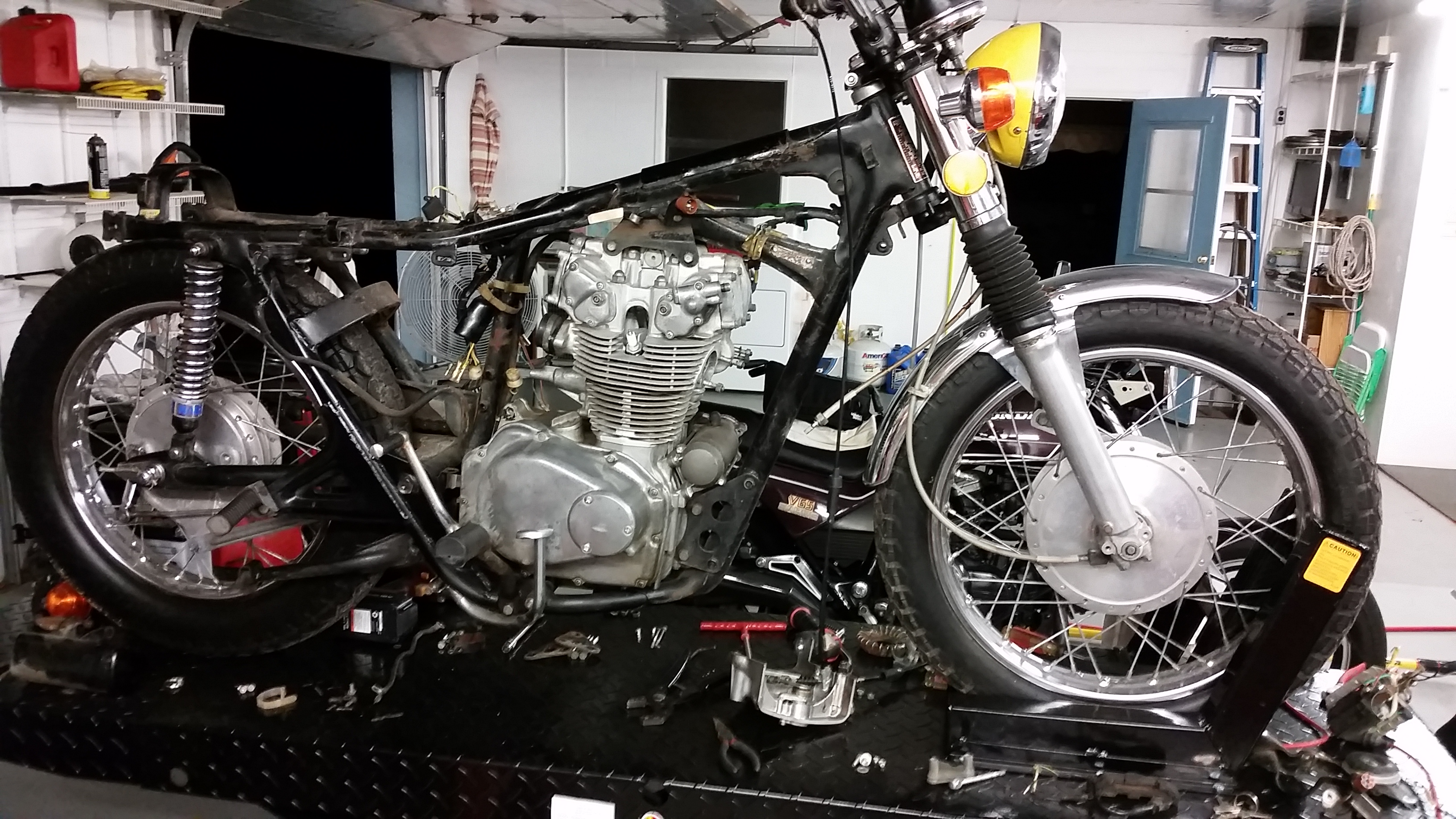 CL450 project reboot, street legal this time-20161015_194809.jpg