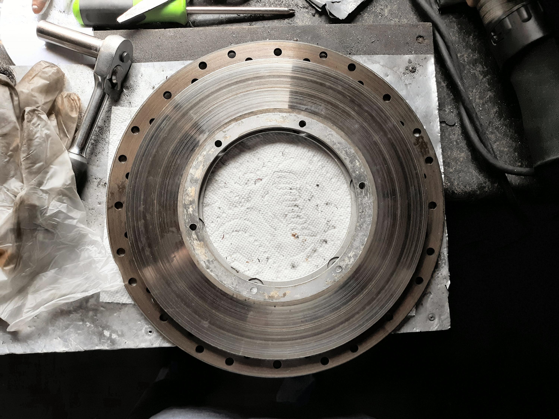 Replaced stock front brake setup-20190417_150717.jpg