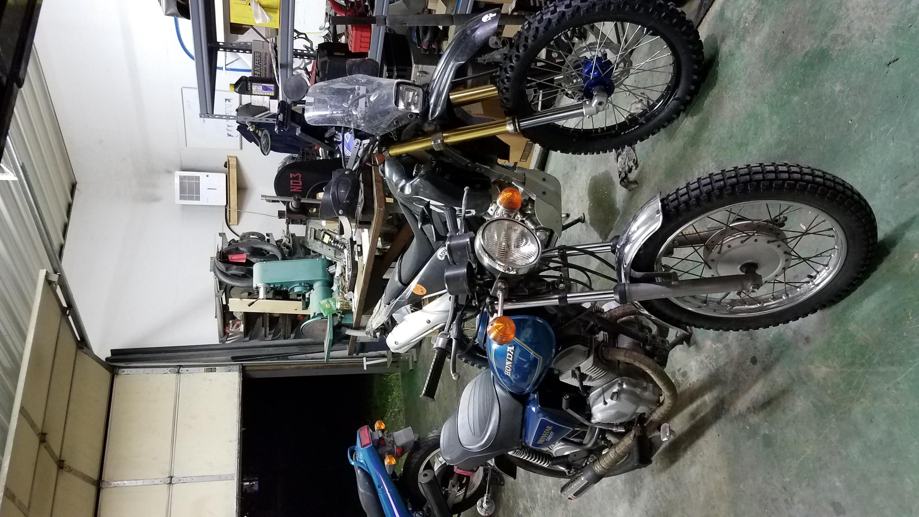Taking a 1981 CM200T on a budget dual sport ride... anyone ever look into options-20190615_215544.jpg