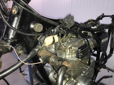 Wiring harness routing problem cb360 | Honda TwinsHonda Twins