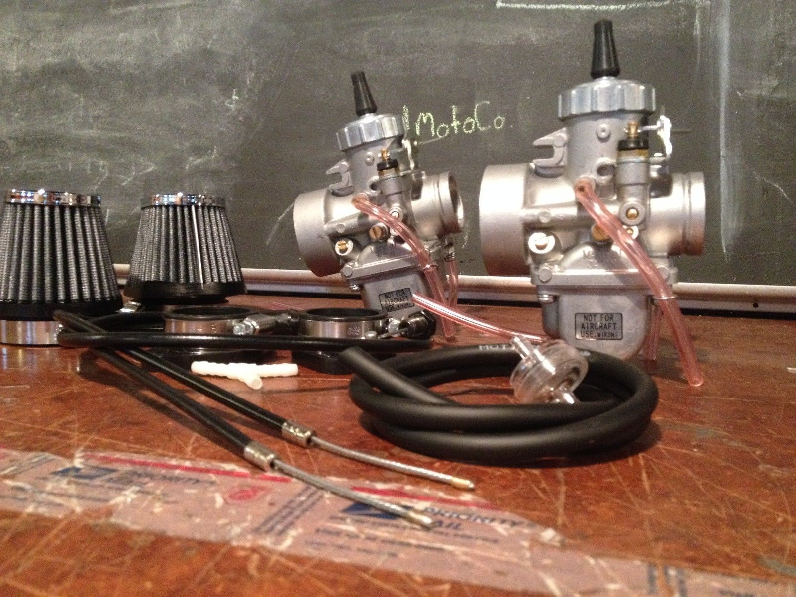 vm30 carb kit! On sale! cb350 Honda. Carbs, pods,2-1 cable, Intake~ Free Shipping!-_57-9-.jpg
