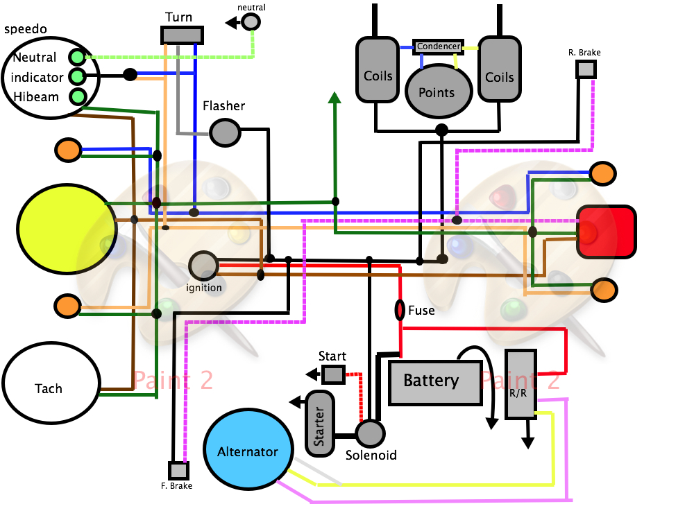 41143d1402783492 starter motor wires all wireing diagram likewise puch wiring diagram on 50cc alpha sports wiring