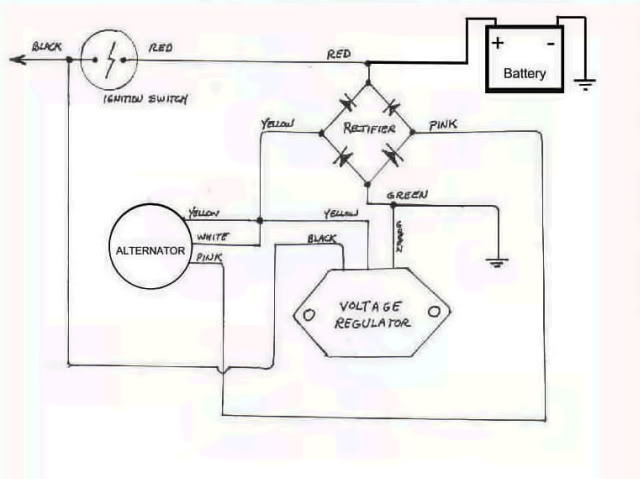 [DIAGRAM_5UK]  do i need the regulator? | Honda Twins | Chevy 250 Voltage Regulator Wire Diagram |  | Honda Twins