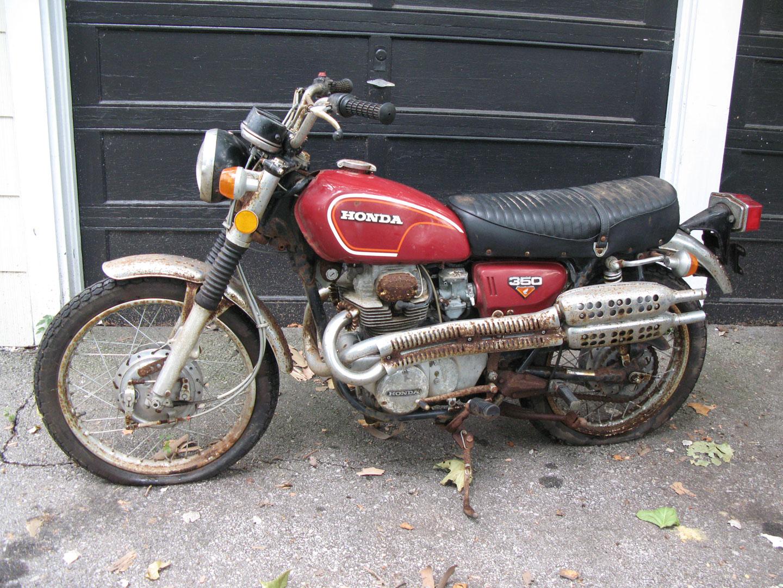 ... 1972 Honda CL350 K4-before.jpg