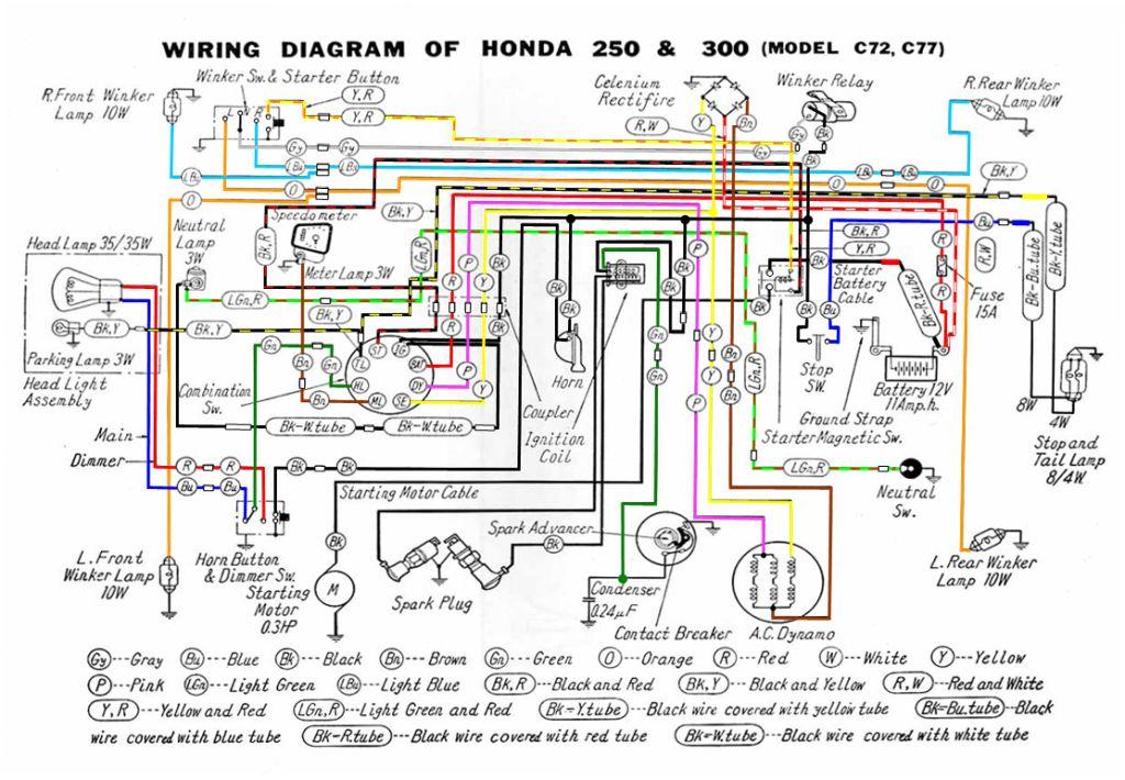 ca77 wiring diagram read all wiring diagram Honda CA77 Frame
