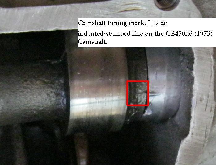 D Can T Find Cb K Camshaft Timing Marks Cast Camshaft on Honda 1 6 Timing Marks