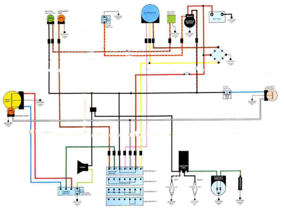 Starter Button And Relay Page 4 Wiring Diagram Cb Cl450 4speed
