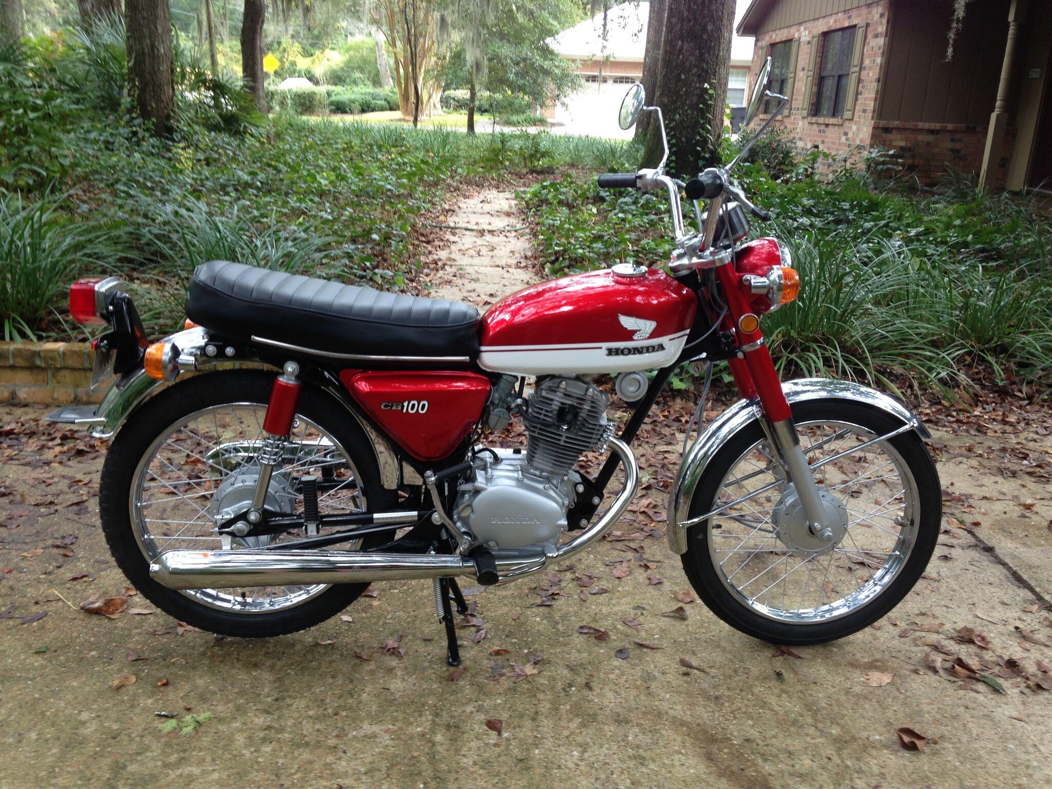 Honda CB 100 Restoration Cb100