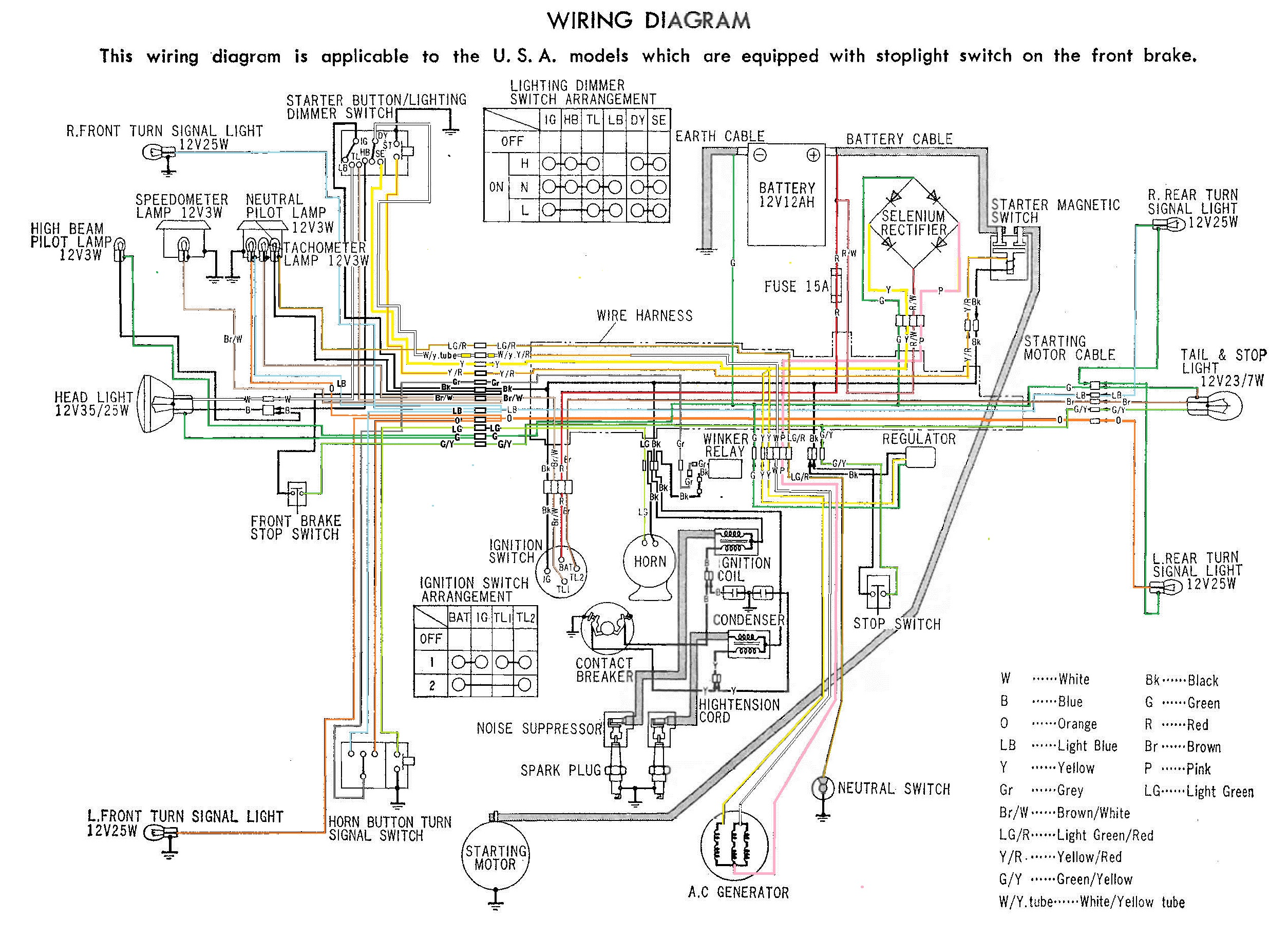 jim's cb450k5 - page 6 wiring diagram 6 wire toad #15