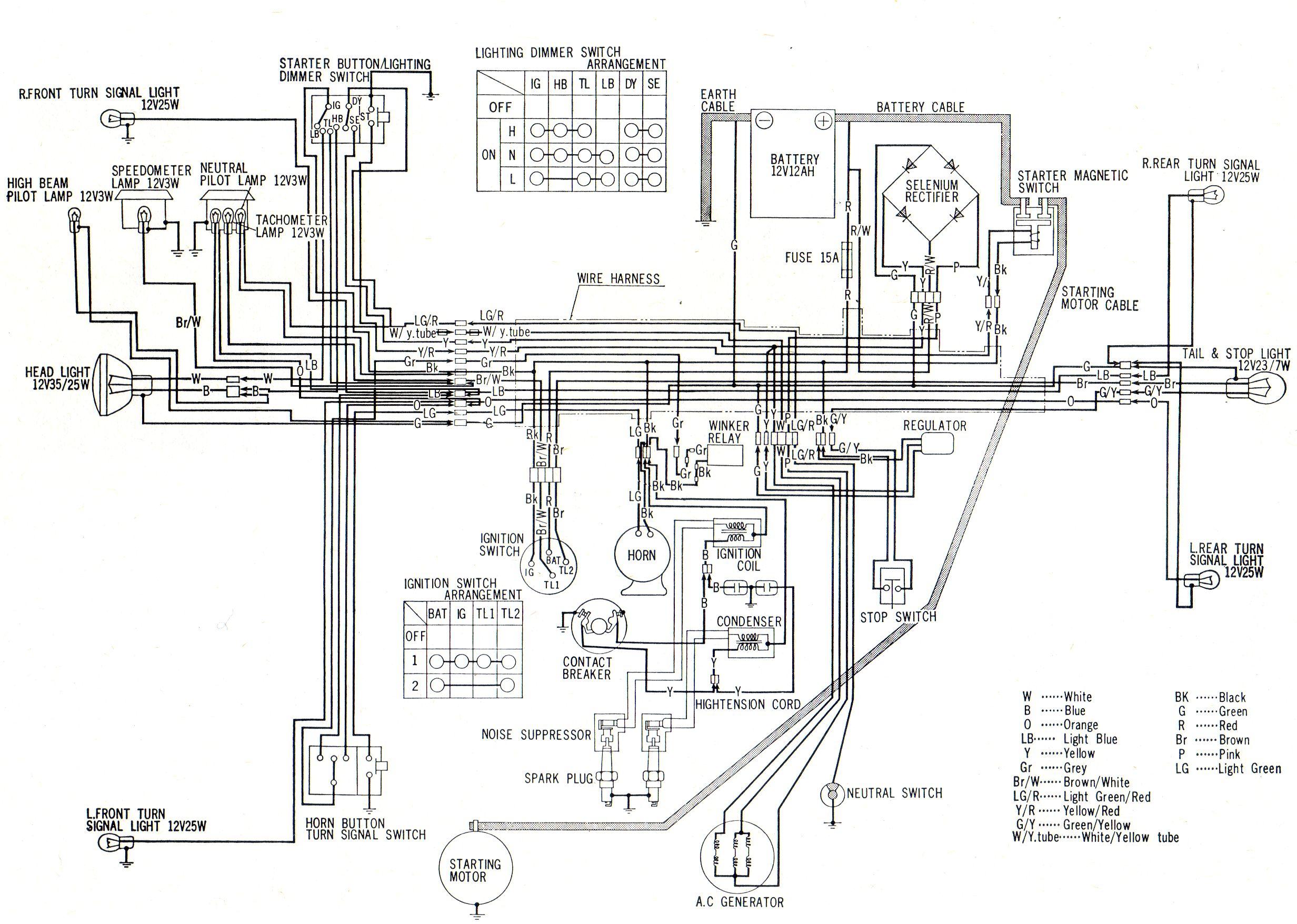 Black Bomber Wiring Diagram