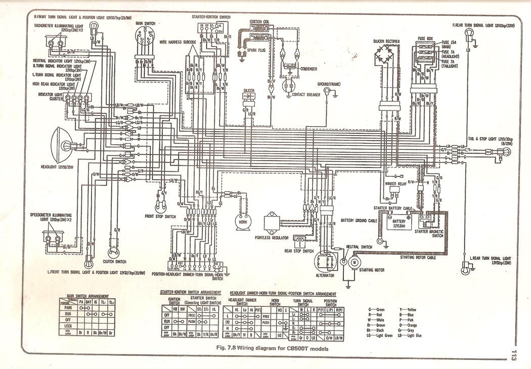 Cb500t Wiring Uk
