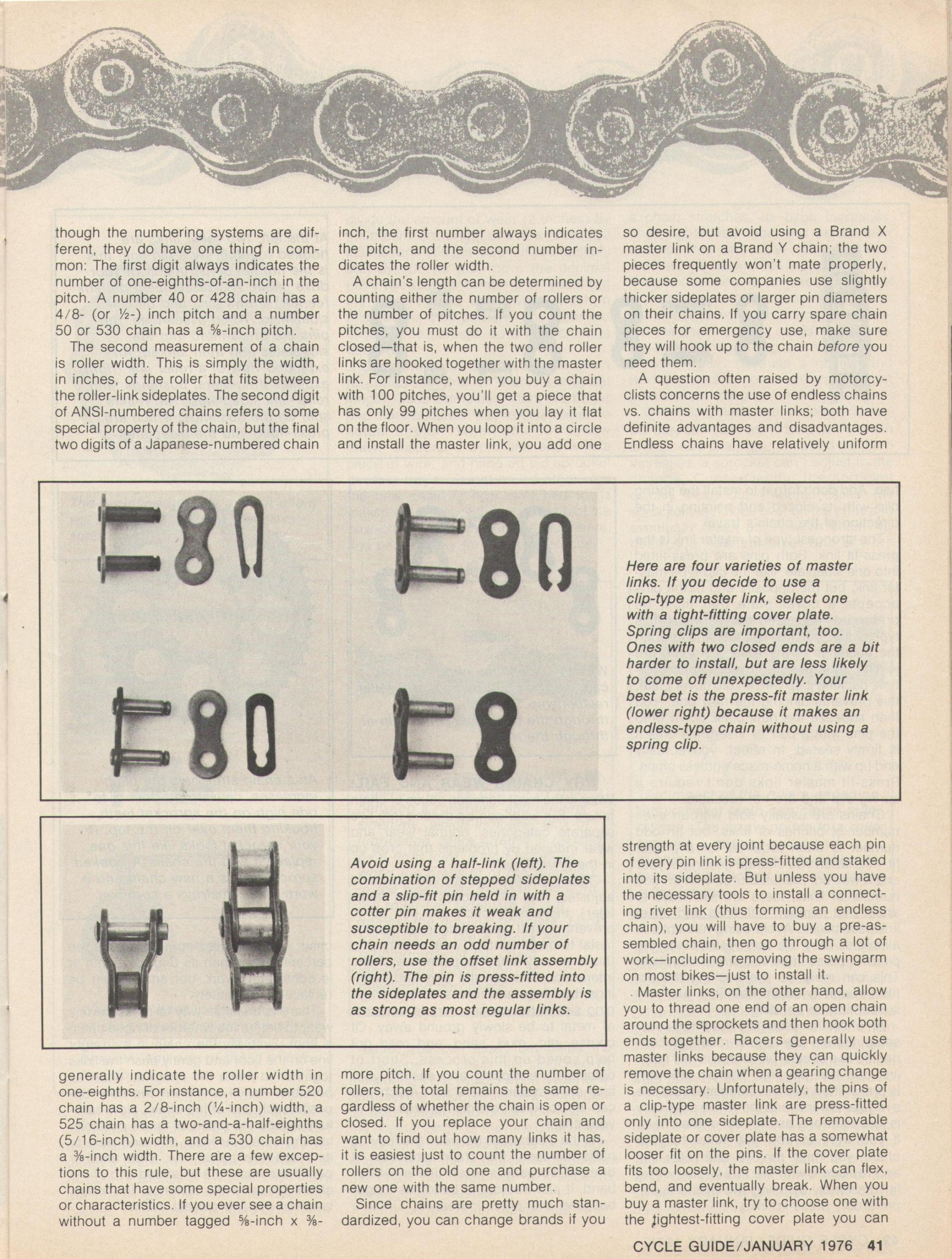 chains tech article cycle guide magazine January 1976-chains-p.2.jpg