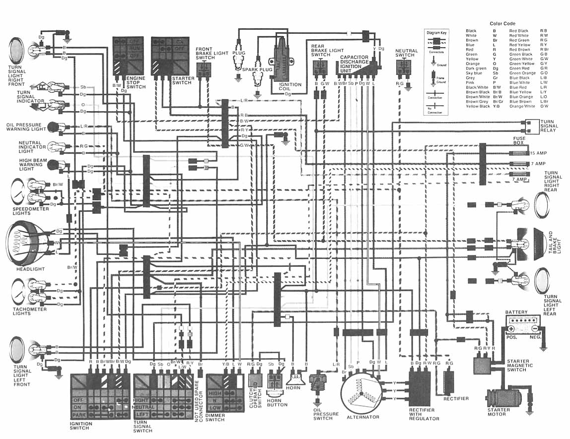 1981 Honda Cm400 Wiring Diagram Archive Of Automotive Cl70 Aftermarket Tail Light Rh Hondatwins Net 1980