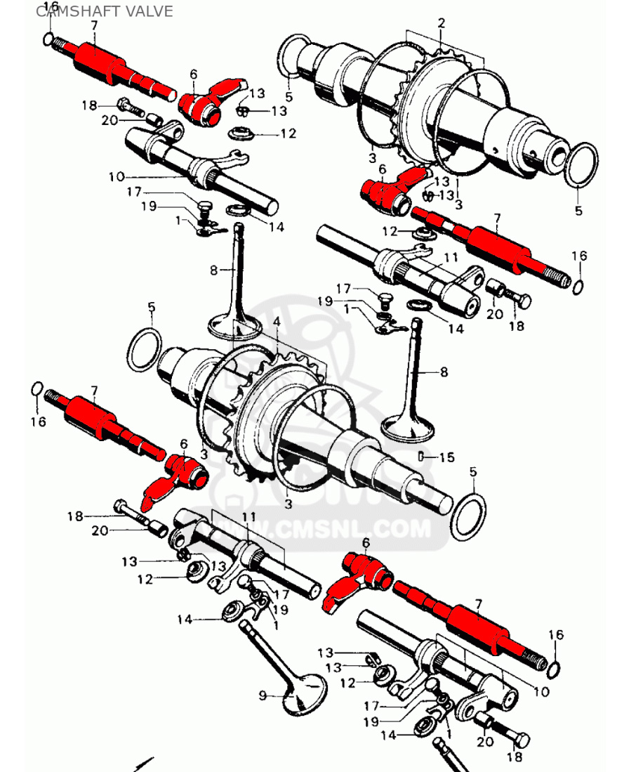 73 CL450 for parts-correct-camshaft-part.jpg