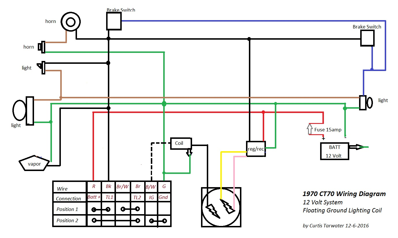 Cb550 Wiring Diagram Fuel Pump Relay. 1973 Honda ...