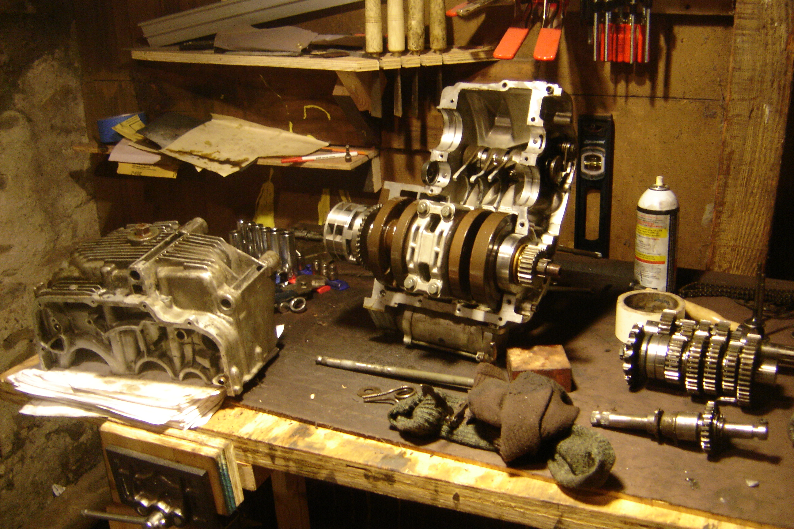 How To Fit Transmission Gear Assembly Into Shift Forks Manual Guide