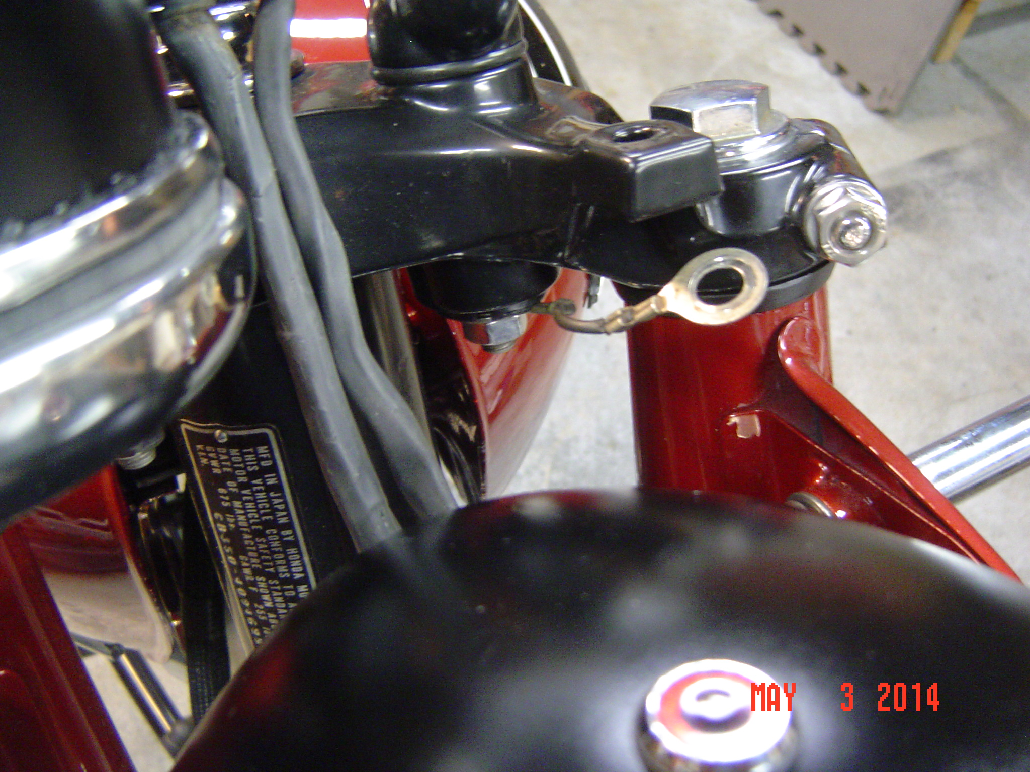 Honda Cb350g Right Handlebar Switch Help