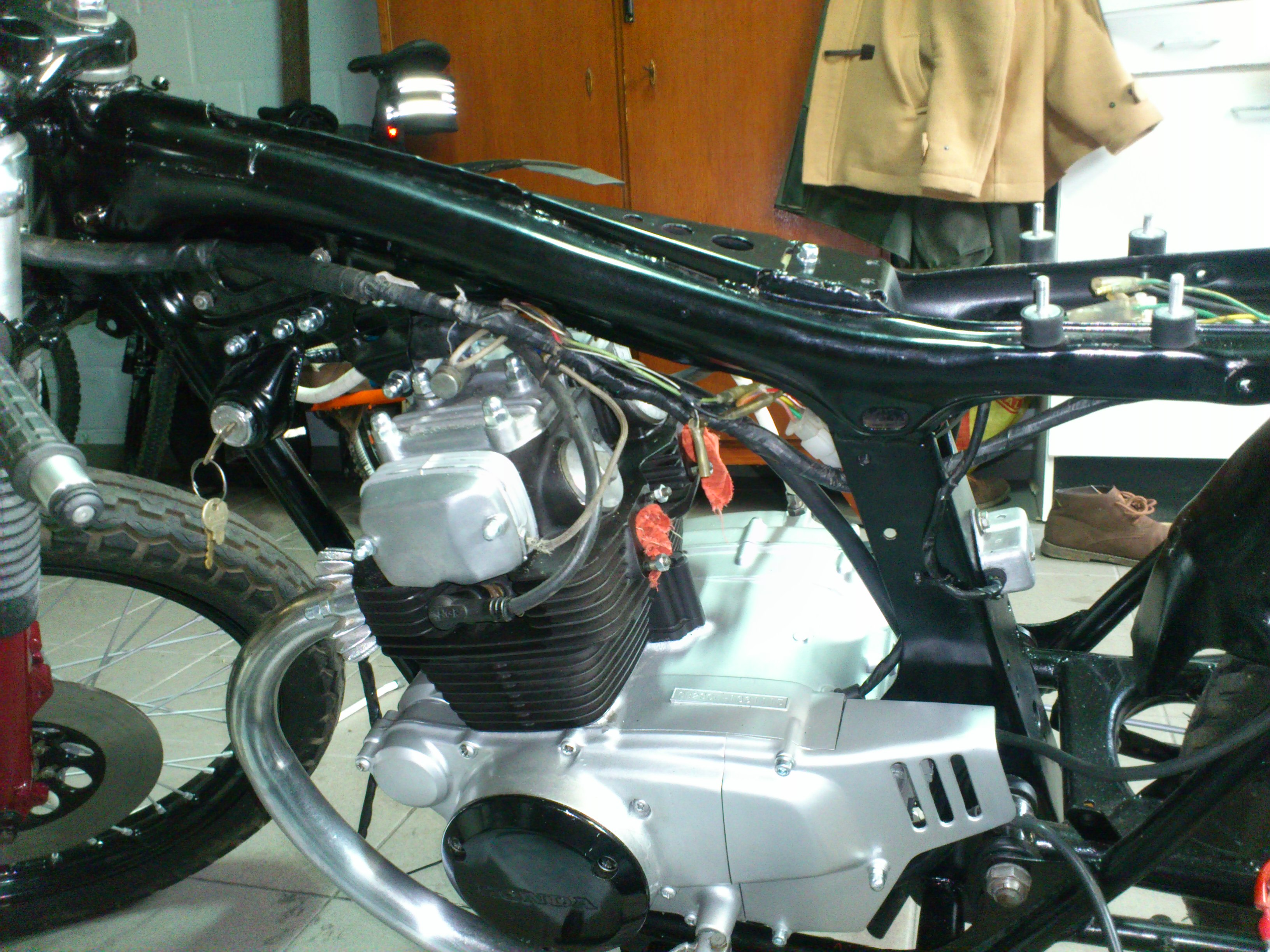 Honda Cb200 Wiring Diagram Diagrams Schema Cb100 Completed Cb360