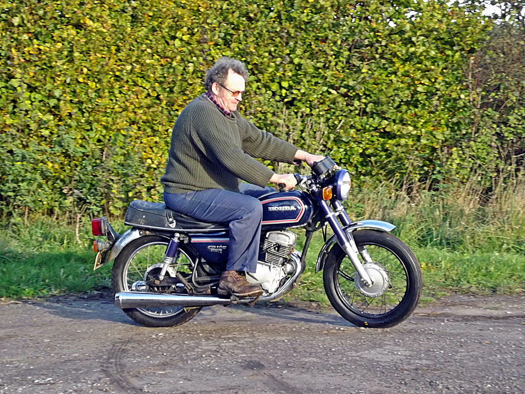 Honda Benly CD125T 1984 Dscf0628 1