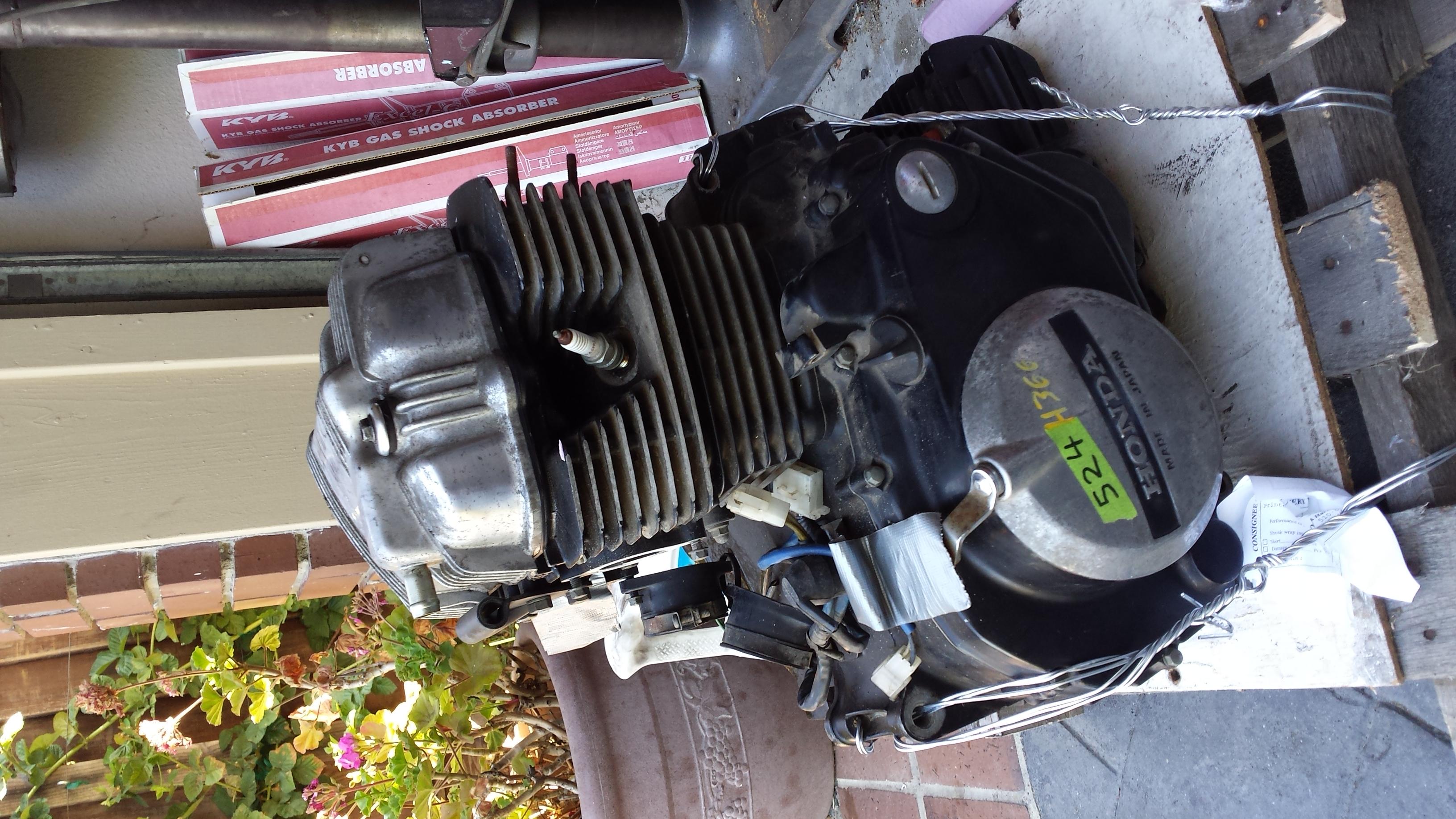 1981 CM400T Restoration ( 1982 CB450SC Engine Swap )