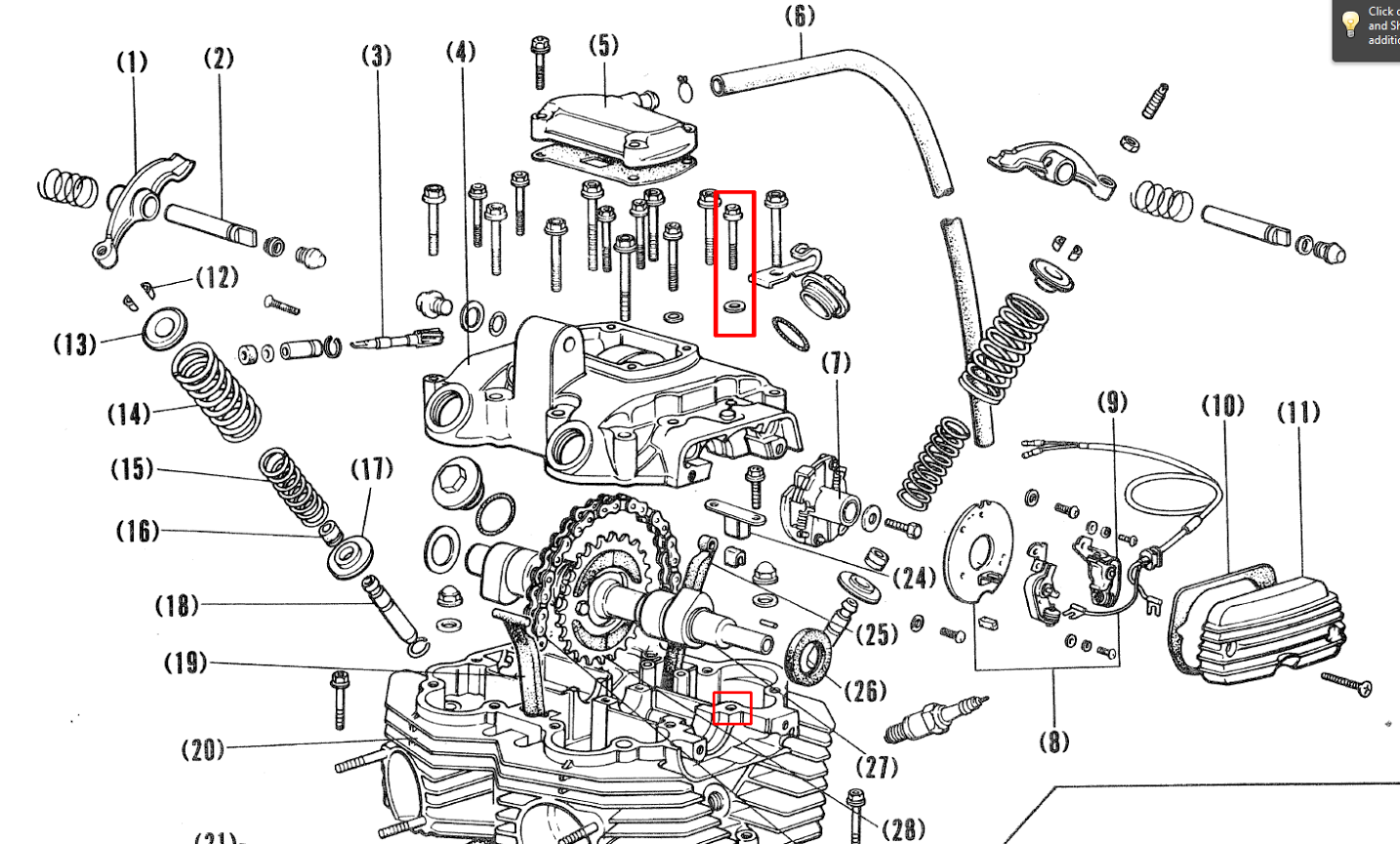 Xs650 Engine Diagram Wiring Yamaha 650 Just Bought A 360 Cam Chain Tensioner And Tuning Questionsjust