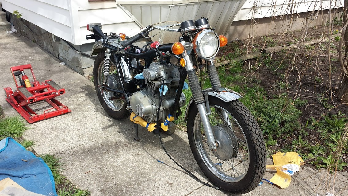 1971 CL / CB build by a first timer-enginein1.jpg