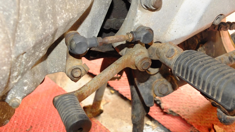James Adams - My CB400N restoration-gear-linkage.jpg
