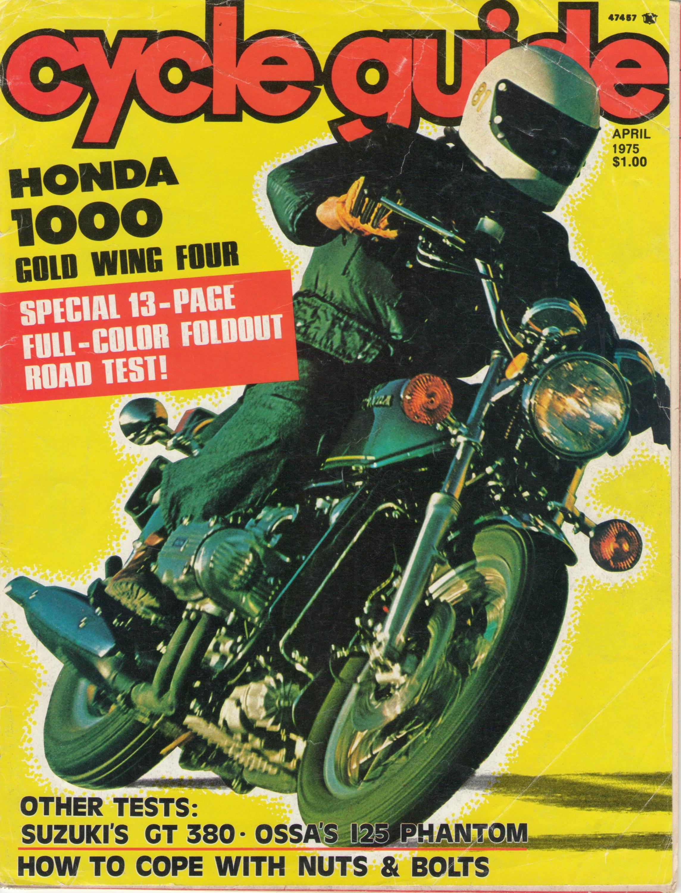 1975 GL-1000 test report Cycle Guide Magazine April 1975-gl-1000-test-report-cover.jpg