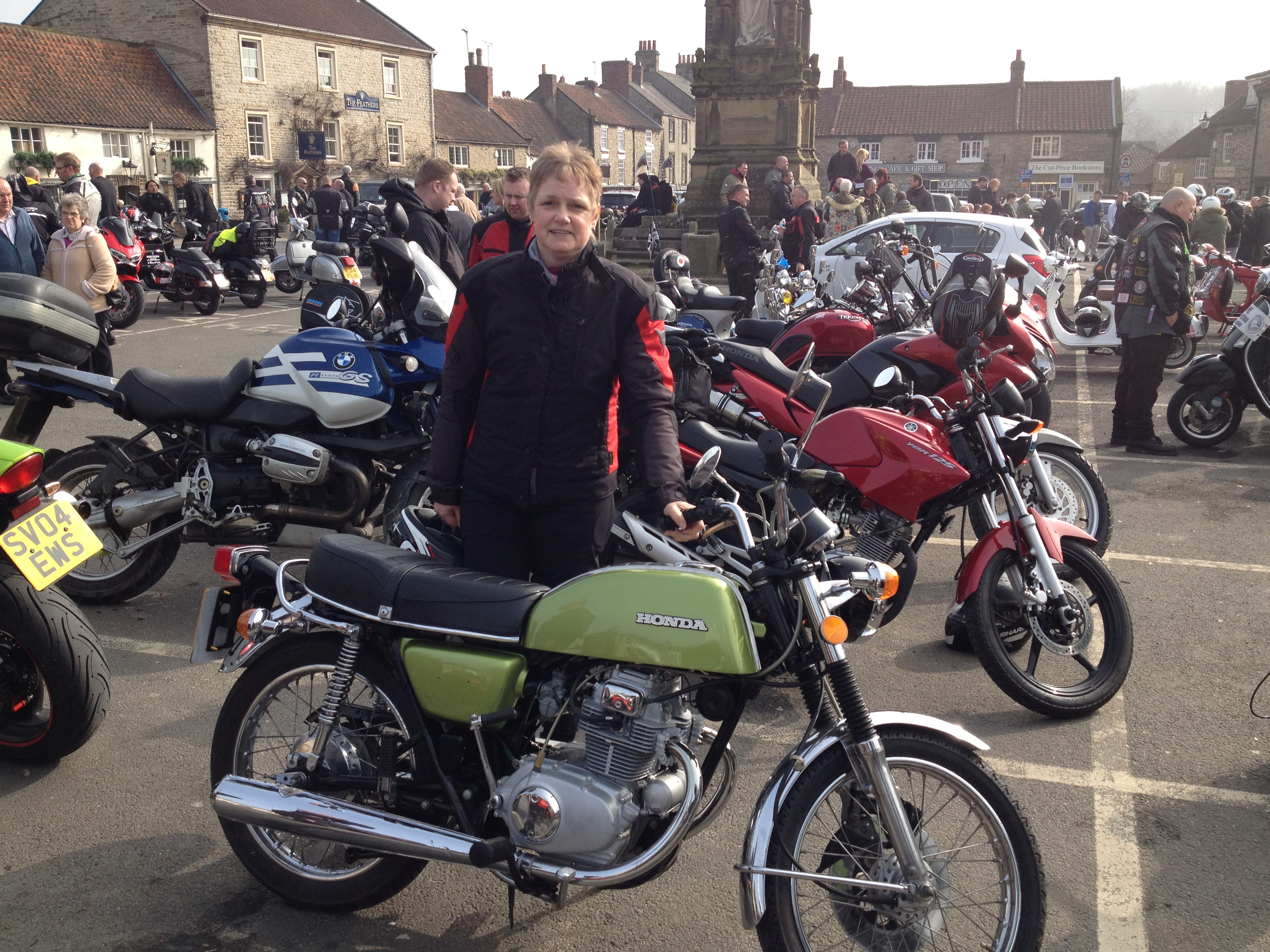 CB200 Olive is back on the road again-helmsley-ride-out-025.jpg
