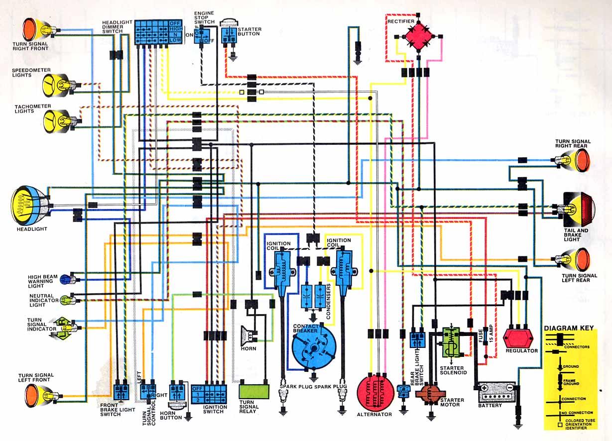 sl350 wiring diagram wiring diagram all Gl1000 Wiring Diagram