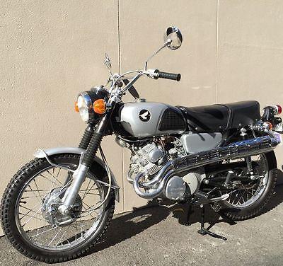 Build A Honda >> 1968 CL175 K0 Scrambler sloper Muffler information sought