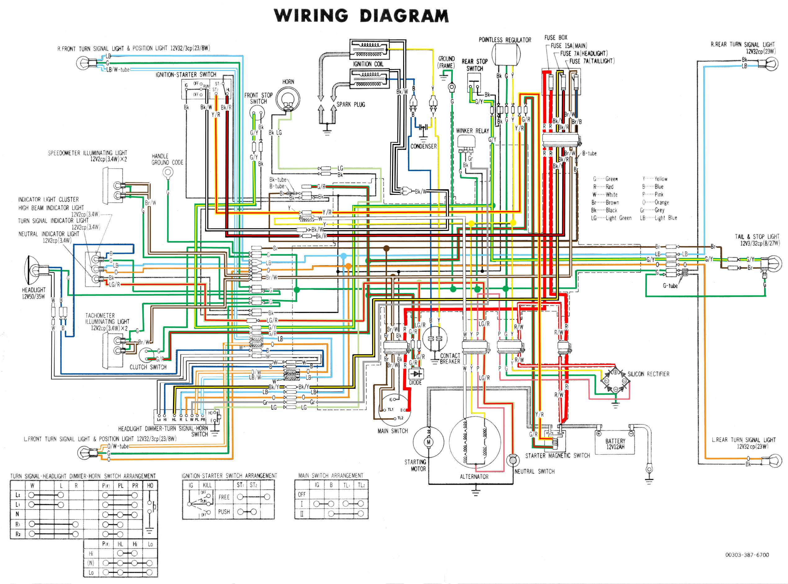 Honda 360 Wiring Diagram Diagrams Scooter Turn Signal Cheap Regulator Rectifier Upgrade Page 43 Parts 50cc