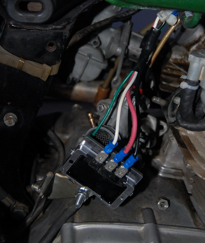 Cheap Regulator  Rectifier Upgrade