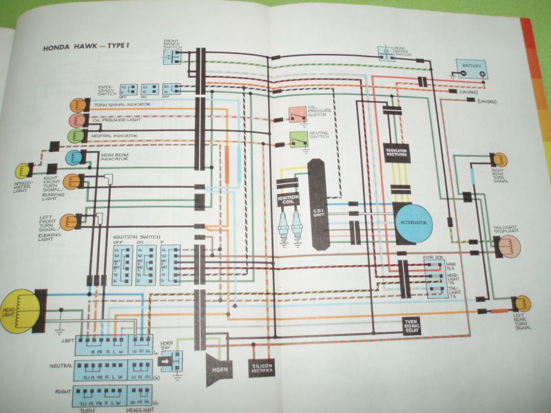 Diagram Of A 1980 Honda Goldwing Wiring - Free Download Wiring Diagram