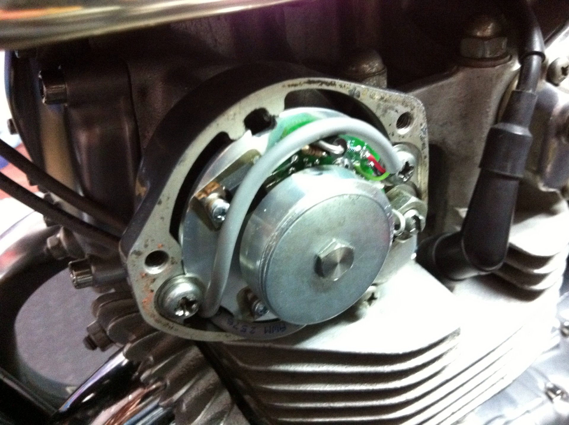pamco ignition help cb450