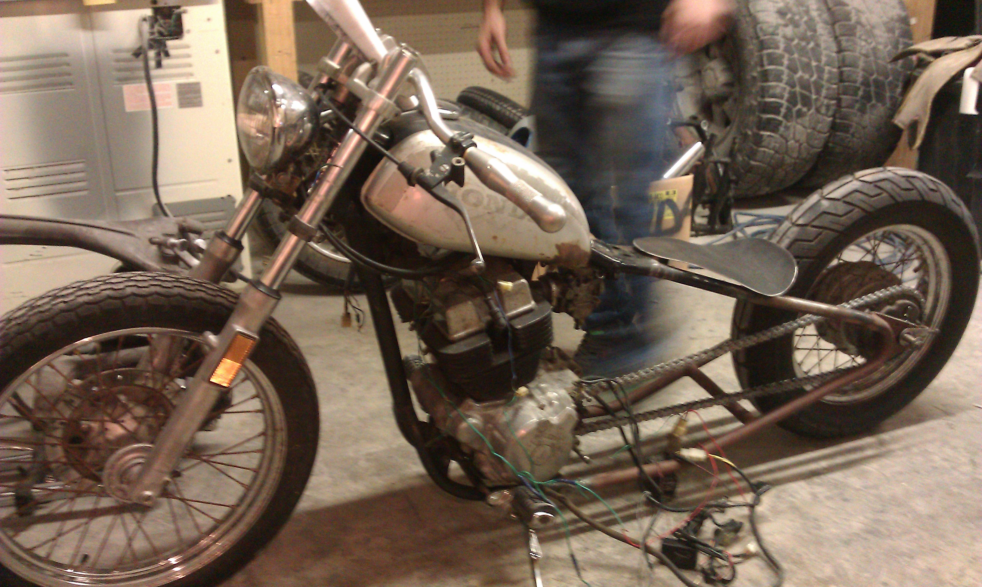 86 250 Chopper Wiring
