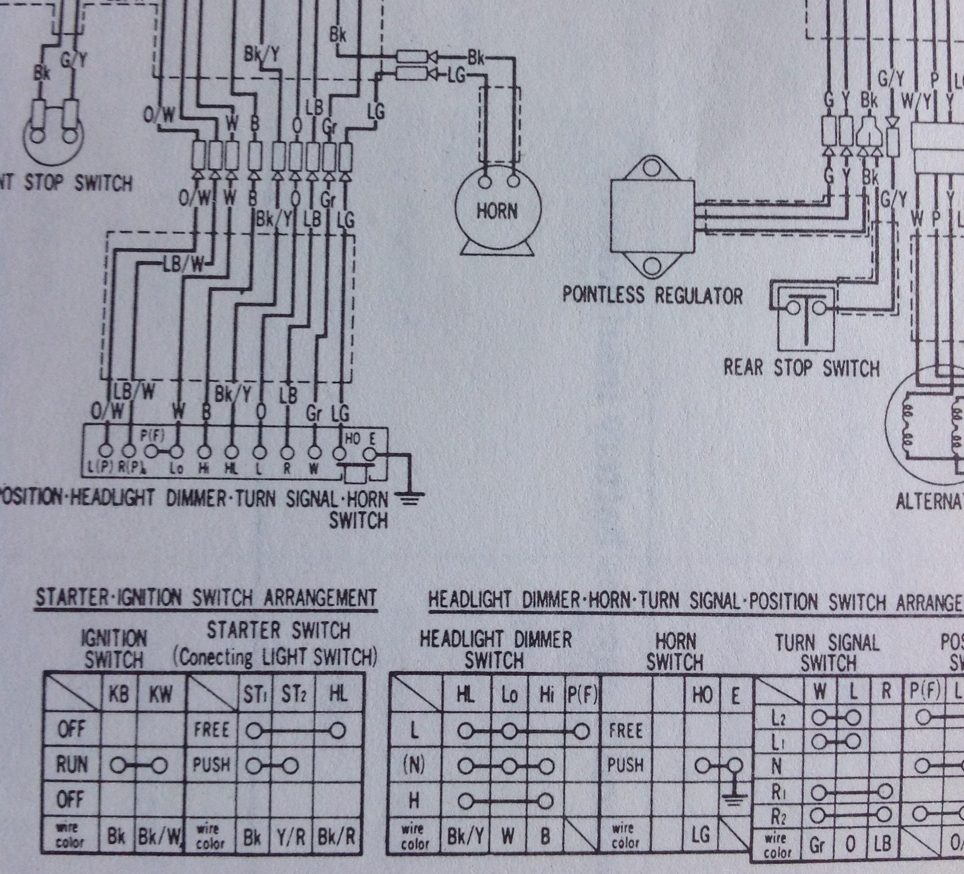 1975 Cb500t Wiring Diagram - Basic Guide Wiring Diagram •