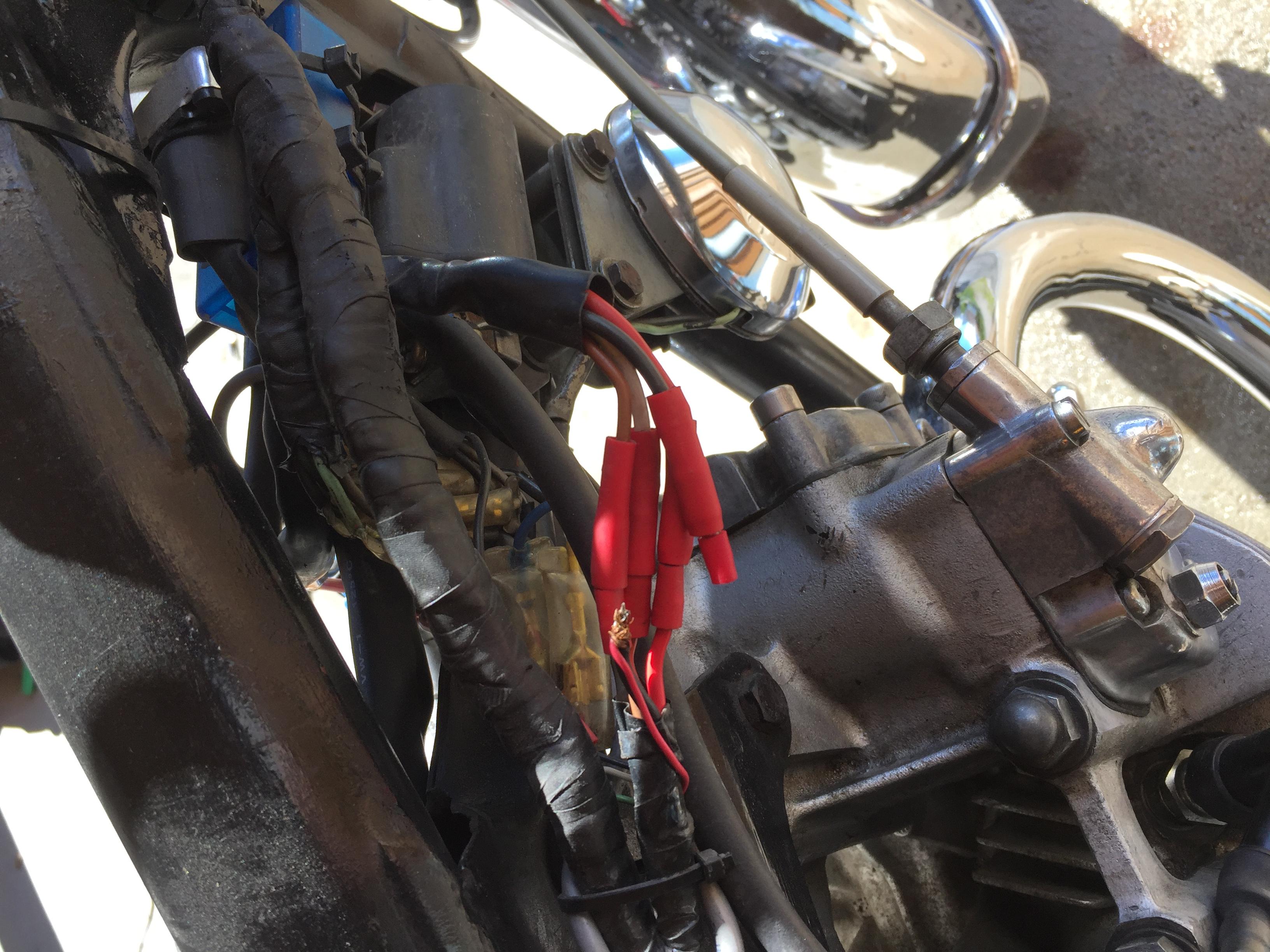 honda cb450 k5 my bike died power gone from ignition. Black Bedroom Furniture Sets. Home Design Ideas