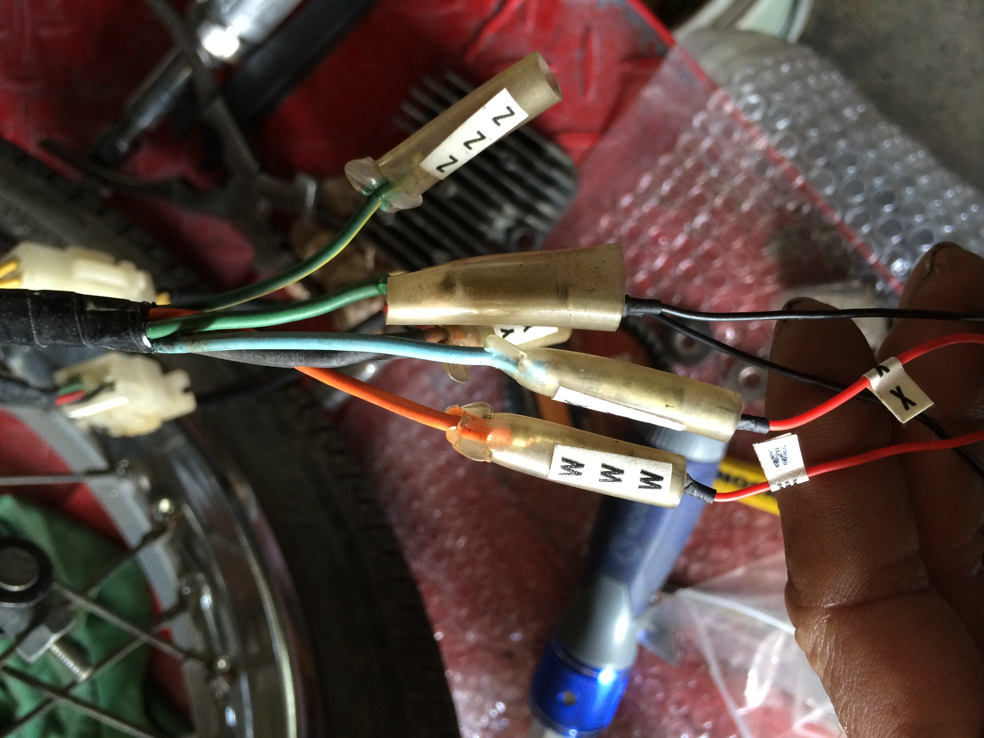 Taillight Complete For Honda CM 200 T 1981